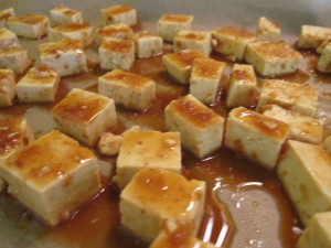 Quick and Easy, Baked Tofu
