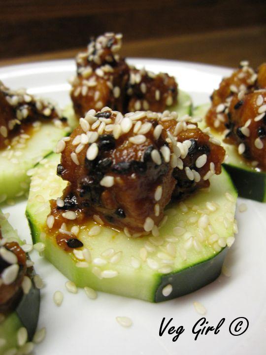 Chili Cucumber Bites