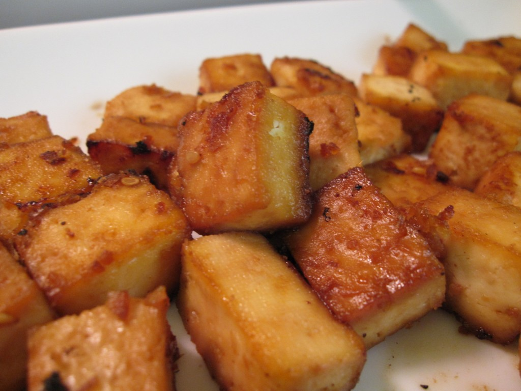Quick and Easy, Baked Tofu by VegGirl.com